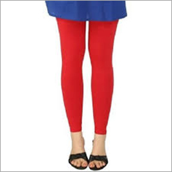 Ladies Plain Ankle Length Leggings