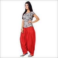 Ladies Plain Patiala Salwar
