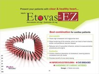 Atorvastatin 10 mg & Ezitamibe 10 mg