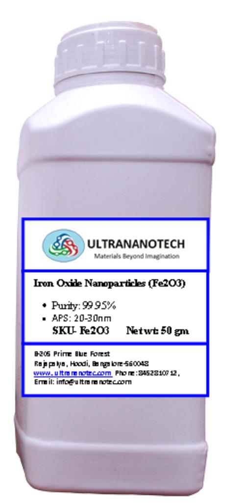 Iron Oxide (Fe2O3) nano powders