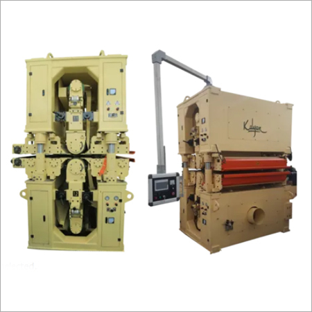 TWO HEAD TOP AND BOTTOM WIDE BELT SANDING MACHINE (KID-1300-R )