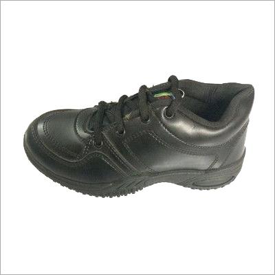 Lace Black School Shoes