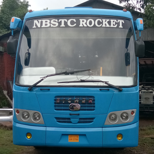 Non Ac Luxury Bus Body