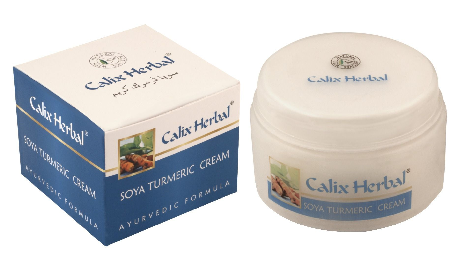 Herbal Soya Turmeric Cream (50 gm)