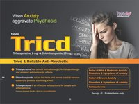 Trifluperazine 1 mg & Chlordizepoxide 10 mg