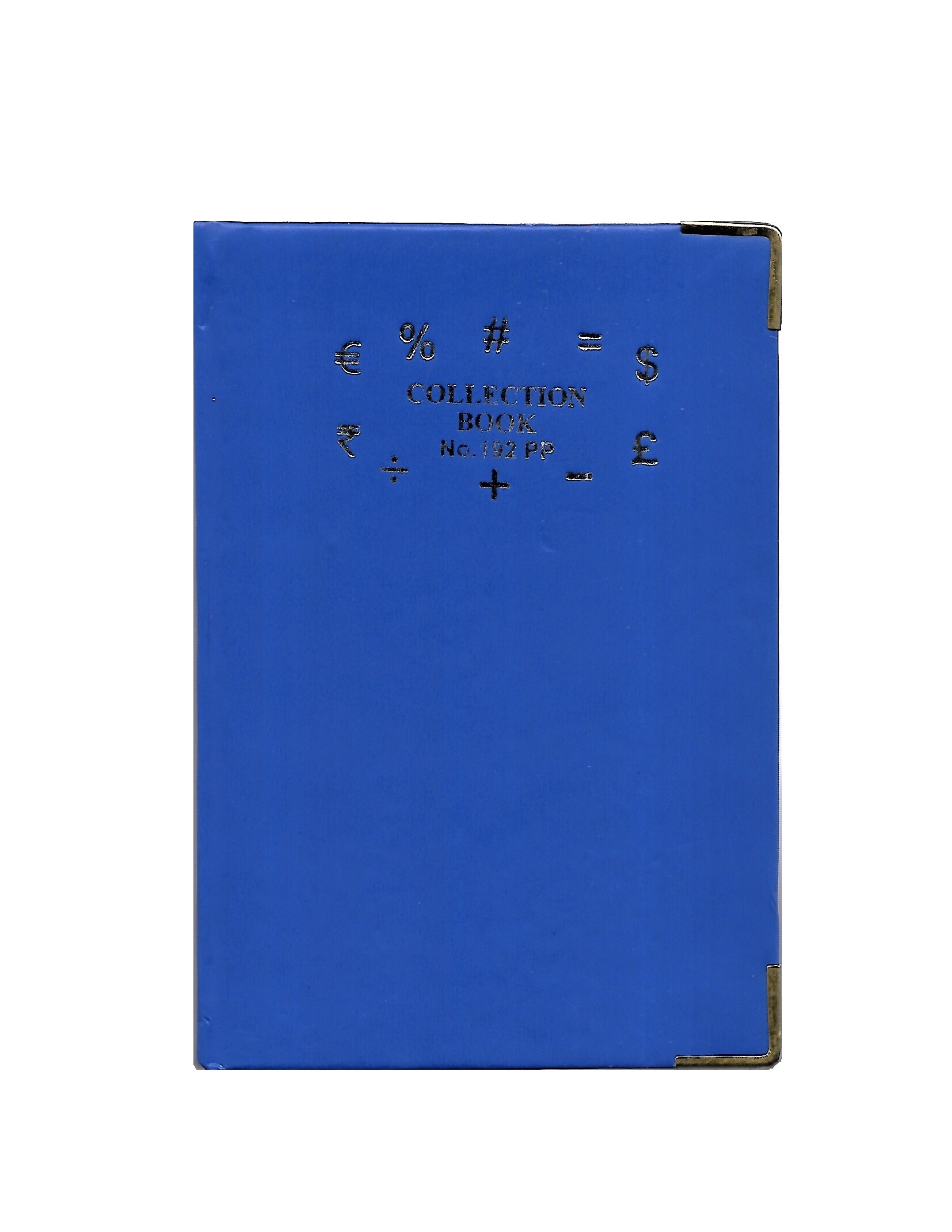 Table Size Collection Book, 70GSM, 192 Pages