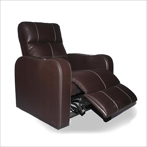 Plain Leather Home Theater Recliner