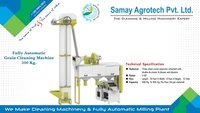 Full Automatic Grain Cleaning Machine 500kg