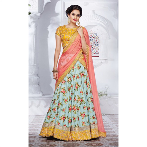 Printed  Fancy Lehenga Choli