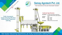 Full Automatic Grain Cleaning Machine Gravity Seperator 2000Kg