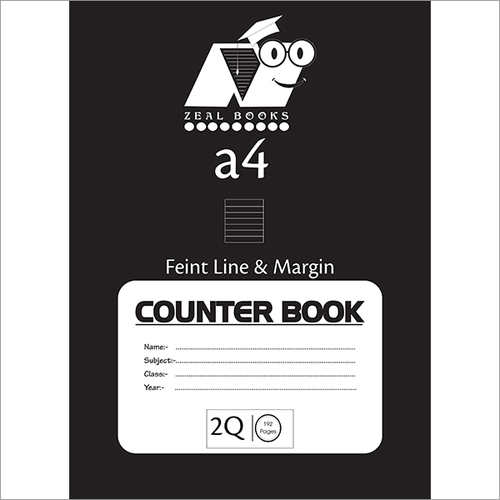 Counter NoteBook
