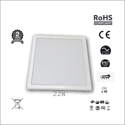 22W Square Ceiling Lights