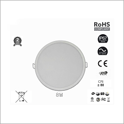 8W Round Ceiling Lights