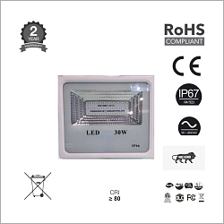 30W IP65 Flood Light