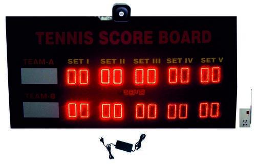 Tennis Scoreboard Set of 5