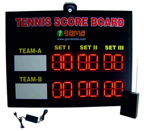 Tennis Scoreboard Set of 3