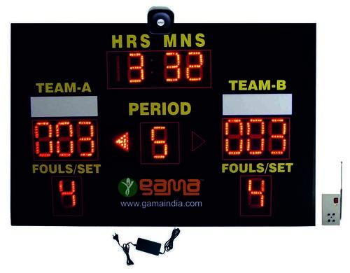 Black Football/Handball/Volleyball/Hockey Scoreboard
