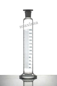 MEASURING CYLINDER, (ROUND BASE) WITH PP STOPPER