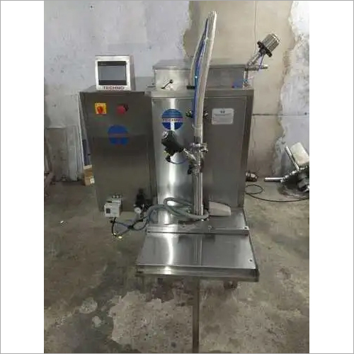 SINGLE HEAD SEMI AUTOMATIC VISCOUS FILLING MACHINE