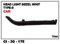 Head Light Bezel Type-ii Car L/R