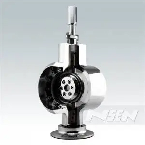 Metal Seated Bi-directional Butterfly Valve