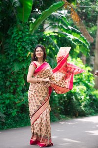 Ladies Printed Silk Saree
