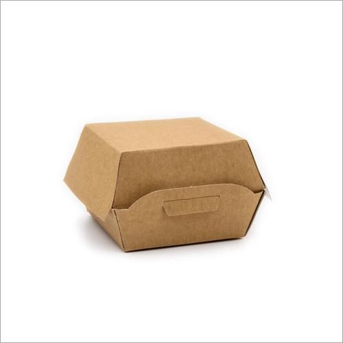 Plain Burger Box