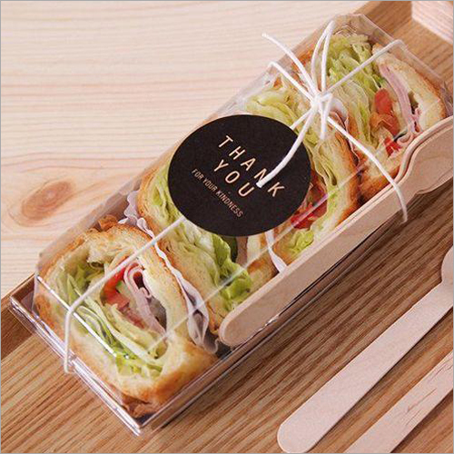 Rectangular Salad Packing Box