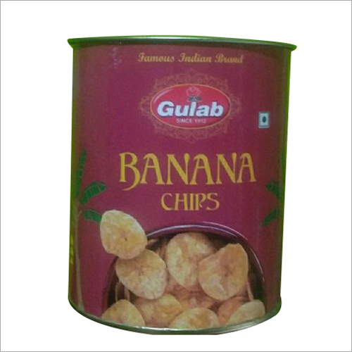 Banana Chips Packaging Tube