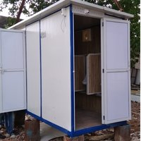 Portable Toilet With Urinal