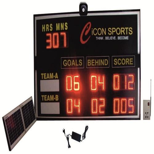 Solar Cricket Aussie Rules LED Scoreboard