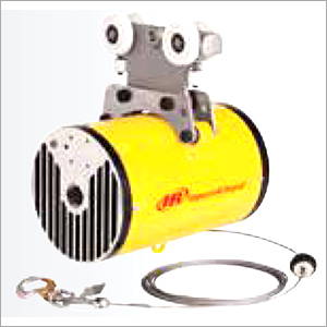 Pneumatic Balancer With Enclosed Rail Trolley Mount