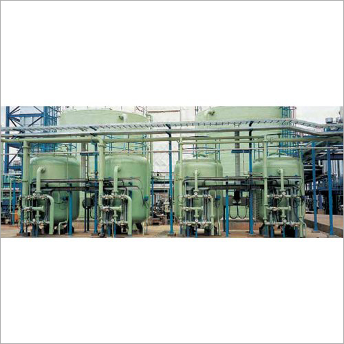 PLC Based Automatic Demineralization Plant