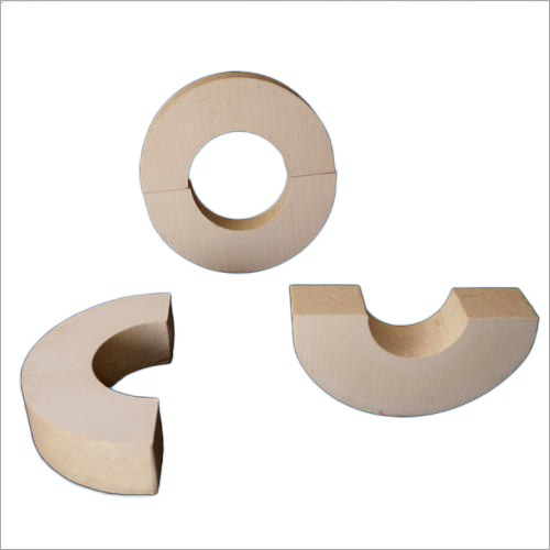 Brown PUF Pipe Support