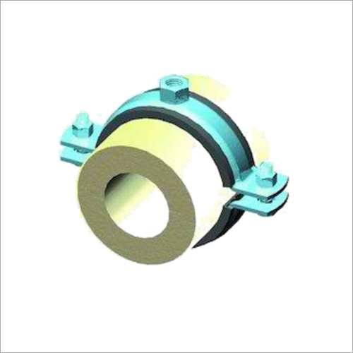 PUF Pipe Support with Metal Clamp