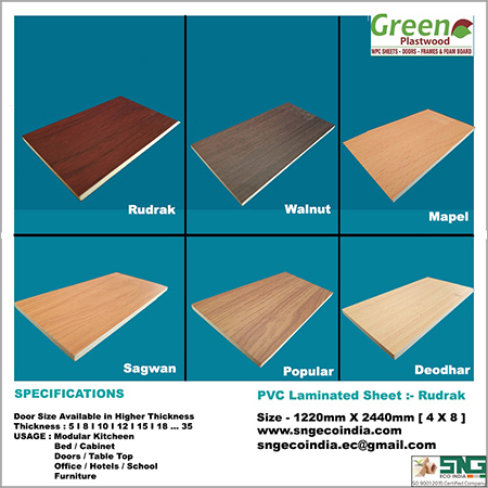 PVC Laminated Sheet Rudrak