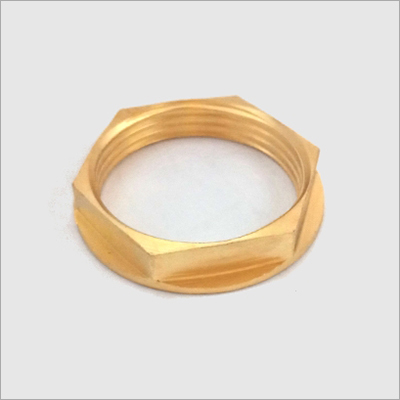 Brass Hexagonal Check Nut