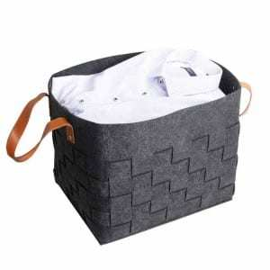 Woven Laundry Hamper Storage Basket