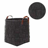 Woven Laundry Hamper Storage Basket Bag