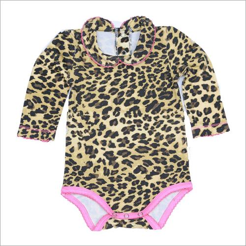 Tiger Print Baby Romper