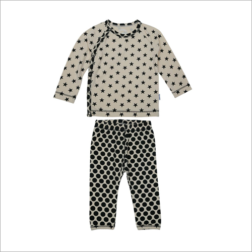 Kids Cotton Printed Night Suit