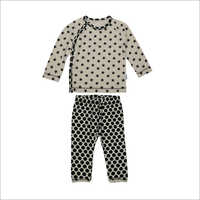 Kids Cotton Printed Night Suit