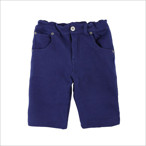 Boys Dark Blue Shorts