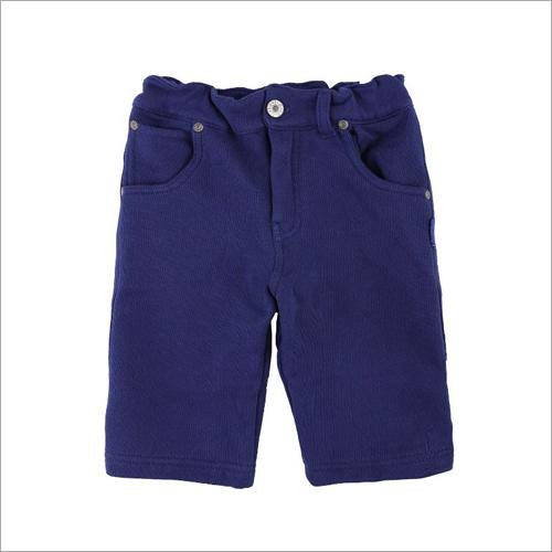 Boys Dark Blue Shorts