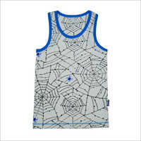 Boys Printed Cotton Vest
