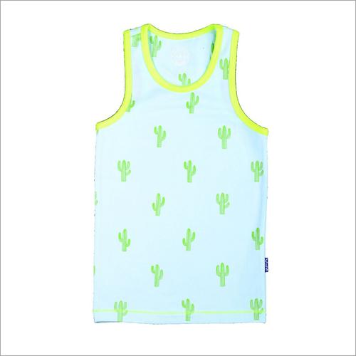 Boys Printed Vest