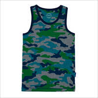 Boys Camouflage Printed Vest
