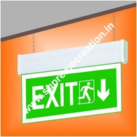 Green Fire Exit Light