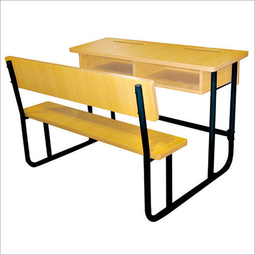 Wooden College Bench