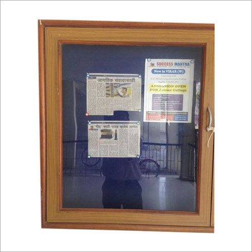 School Notice Board With Frame